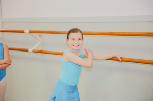 Young Dancer Smiling in Class - Dance Health
